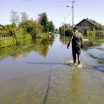 Ižanska cesta - Poplave 2010
