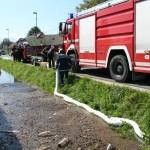 Čiščenje potoka - Poplave 2010