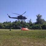 Bell 412 z bambi bucketom