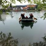 reševanje s čolnom