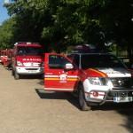Zbor vozil (foto: PGD Črnuče)