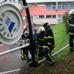 Pomoč pri OŠ Maksa Pečarja - Poplave 2010