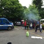 šotor z dimom